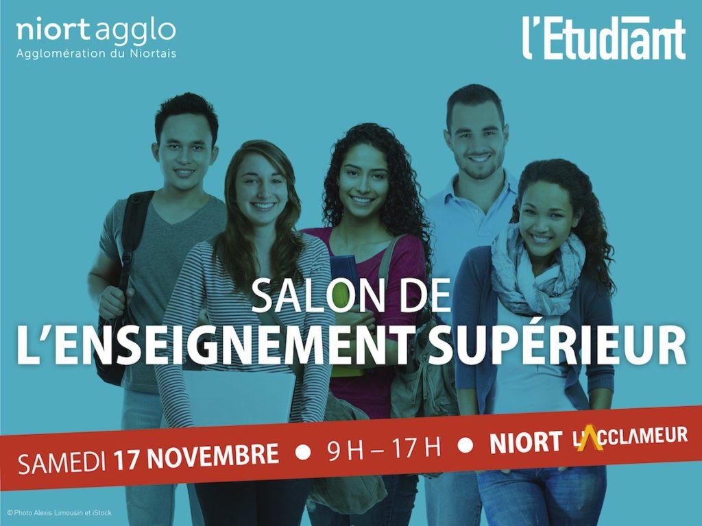 Salon de l'Enseignement Supérieur de Niort 2018 sizes=