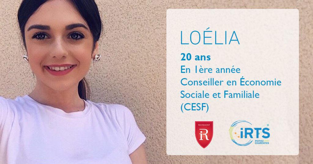 À la rencontre de nos étudiants : Loélia, en formation CESF