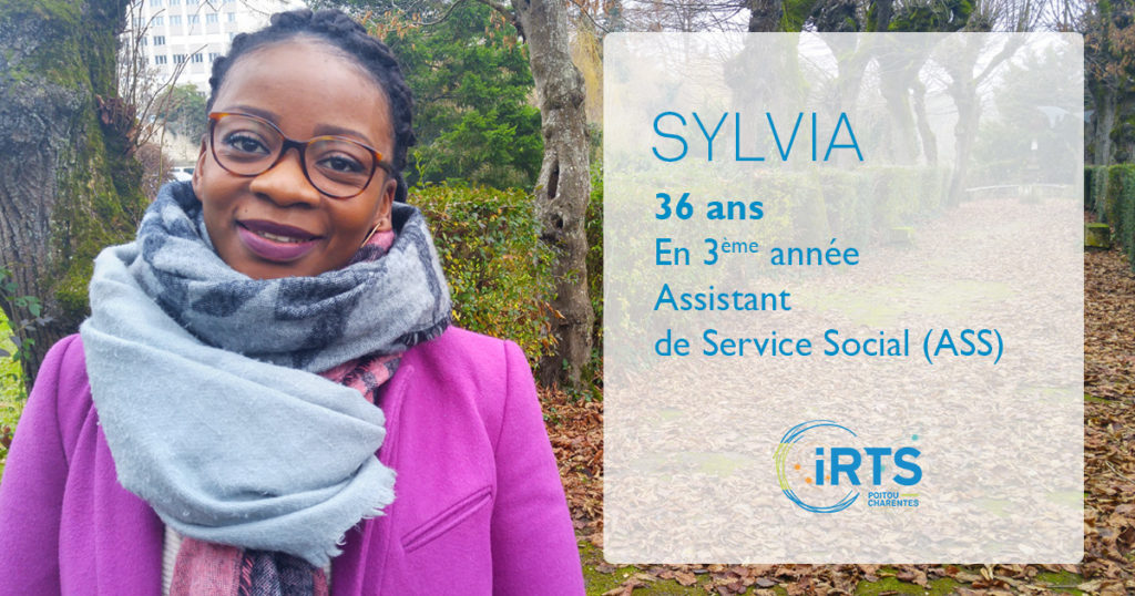 À la rencontre de nos étudiants : Sylvia, en formation ASS