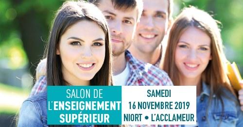 Salon de l'Enseignement Supérieur de Niort 2019 sizes=